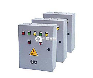 排水泵的控制,它主要利用水池中和浮球开关所输出的